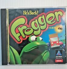 PC Game Frogger  CD-ROM, WIN 95/98 By Hasbro Complete VG+ Ships Free