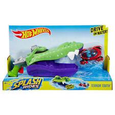 New  Hot Wheels Splash Rides Large Vehicle, Terror Tooth Vehicle    4+