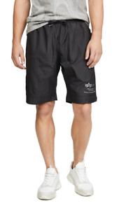 Alpha Industries Parachute Textured Taffeta Shorts MSRP $75 Size 2XL # 5C 1814 N