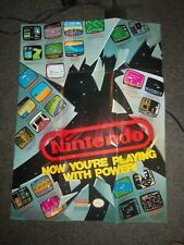 "Nintendo NES Now You're Playing With Power 20"" X 27"" Poster"