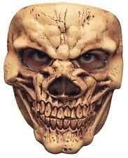 Homme Crâne /& cou masque plein Overhead Latex Halloween Squelette Fancy Dress New