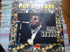 "LP 12"" JAMES BROWN POP HISTORY N 3 ONLY ITALY GTEFOLD DOPPIO EX/VG+"