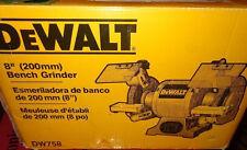 NEW IN BOX DEWALT DW758 8-Inch Bench Grinder FAST SHIPPING