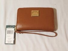 Lauren Ralph Lauren Women's Leather Zip-Around Wristlet/Wallet NWT