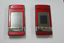 lot of  2 Nokia N76  red (Unlocked) 3G GSM Bluetooth for part or not working