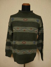 Malo Classic - Maglione 100% Cashmere  - XL - Hand Knit Sweater - Made in Italy
