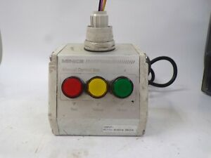 MENICS, MANUAL CONTROL BOX, RED/YELLOW/GREEN, PARTS ONLY, AC INPUT 100-120 VOLT