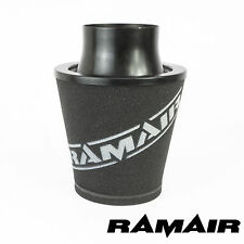 Ramair Black Medium Aluminium Foam Air Filter - Universal 100Mm Od Neck