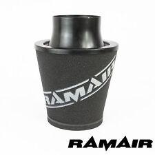 Ramair Negro Medio De Aluminio De Espuma Filtro De Aire-Universal 100mm Od Cuello