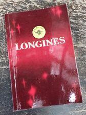 LONGINES Vintage 1972 Certificate Guarantee Booklet Calibre 428 Conquest Chrono