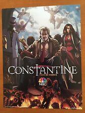 "DC Comics CONSTANTINE Poster NBC TV Series Promo 10"" x 13"" NM 2014"