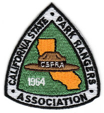 California State Park Rangers Association (CSPRA) Logo Patch