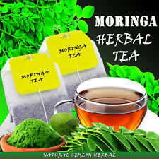 Moringa Tea - Natural Ceylon Herbal tea bags- Body Energizer- 25 tea bags/Pouch