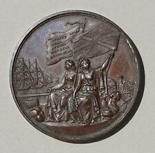 INTERNATIONAL EXHIBITION LONDON 1862 BRONZE  MEDAL
