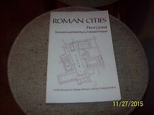 """Roman Cities : """"Les villes romaines"""" by Pierre Grimal (1984, Paperback)-355 Pgs"""