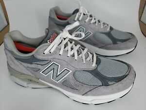 New Balance 990v3 Grey M990GL3 size US Men's 10.5 USA Heritage EUC Made in USA