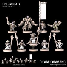 Onslaught Miniatures - OTC Command - 6mm