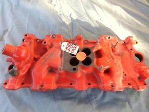 1958-1959 CHEVROLET 348 INTAKE MANIFOLD USED - GM #3732757- GOOD CONDITION