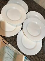 Arcopal France Off-White dinner Plates Set Of 6