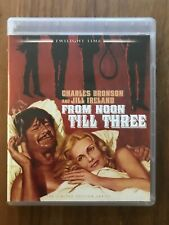 From Noon Till Three (Twilight Time Blu-ray, 1976) Out Of Print Oop