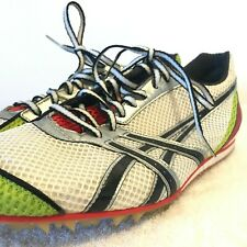 Asics Turbo Ghost Men's 10.5 Track Spike Shoes Red White Green GN803