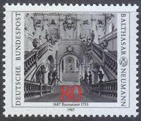 Germany 1987 MNH Mi 1307 Sc 1497 Archbishop's Residence at Wurzburg **