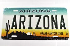 USA Arizona Auto Nummernschild License Plate Deko Blechschild