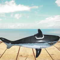 1PC Outdoor Beach Pool Children's Water Toys PVC Inflatable Cartoon Shark Toy ZY