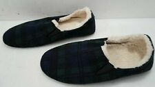 Pendleton Unisex Dark Multicolor Wool Sherpa Suede Nomad Slippers Size L/G IOB