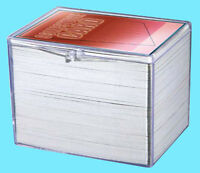 1 ULTRA PRO 150 COUNT CLEAR HINGED CARD STORAGE BOX Case Holder Sports Trading