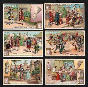 The Glove Card Set Liebig 1904 Gaunt Handscun Greece Armour Gauntlet