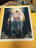 "Forgiven II by Thomas Blackshear 8"" x 10"" Print ready to frame"