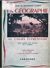 Géographie par René CLOZIER FÉNELON Vie des Paysans Usines L'Afrique Lapone 1948