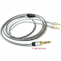 4.4mm Balanced Silver Plated Upgrade Cable for HE400i HE1000 HE6 HE500 he560 EDX