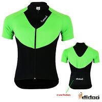 New Men's Cycling Short Sleeve Shirts Team Bike Riding Jersey  Race Fit Top