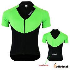 Men's Short Sleeve Cycling Shirts Bicycle Jersey Reflective MTB Bike Sportswears