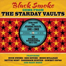 Black Smoke - Gems From The Starday Vaults 1961-1962 2CD NEW/SEALED