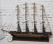 Vintage Spanish 'Fragata Espanola Ano 1780' 42 in (107 cm ) Model Ship [PL3447]