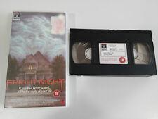 FRIGHT NIGHT TOM HOLLAND CHRIS SARANDON TERROR HORROR VHS TAPE CINTA ENGLISH