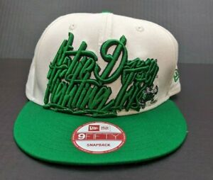 New Era 9fifty Notre Dame Fighting Irish Embroidered Snapback Hat