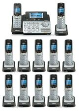 Vtech Ds6151 Dect 6.0 2 Line Cordless Phone w/ Answering Machine + 11 Ds6101 New