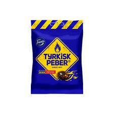 Fazer Tyrkisk Turkisk Peber Peppar 150g 5 oz Hot Salty Licorice Peppery Candy