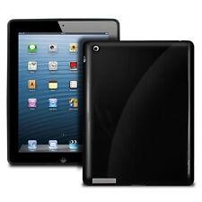 iPad Cover Shell Tablet Case iPad 2 iPad 3 Hard Cover Black Shine light NEW