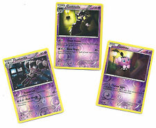 RARE GOTHITELLE+GOTHORITA+GOTHITA -3 EVO DRAGONS EXALTED Pokemon Cards-