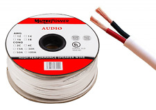 Speaker Cable Wire Oxygen Free Copper In-Wall Install 2 x 1.5mm² 16AWG 30 M