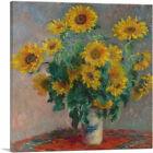 ARTCANVAS Bouquet of Sunflowers 1881 Canvas Art Print by Claude Monet