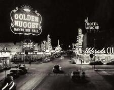 GOLDEN NUGGET CASINO VINTAGE PHOTO MOBSTERS LAS VEGAS STRIP GAMBLING #21247