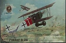 Roden 1/48 Fokker D.VII Abatros German BiPlane Fighter Model Kit 424