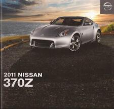 2011 11 Nissan 370Z  original sales brochure Mint