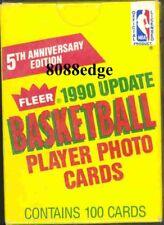 1990 90-91 FLEER NBA BASKETBALL UPDATE BOX SET - GARY PAYTON/GILL/COLEMAN RC